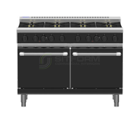 Waldorf Bold RNLB8820G – 1200mm Gas Range Static Oven Low Back Version | Ranges