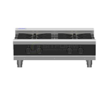 Waldorf Bold RNLB8900G-B – 900mm Gas 4 Burner Cooktop Low Back Version – Bench Model | Cooktops