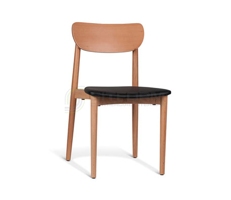 Natalie Chair – PU Cushion | Timber Chairs