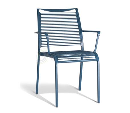 Waterfall Arm Chair | Metal Chairs