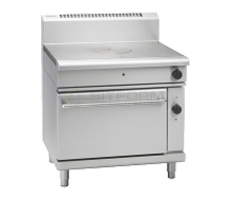 Waldorf 800 Series RN8110GEC – 900mm Gas Target Top Electric Convection Oven Range | Ranges