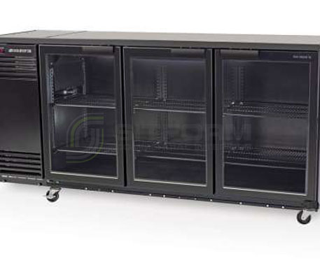 SKOPE  Backbar X BB580X 3 Glass Swing Door Fridge | Bar Displays