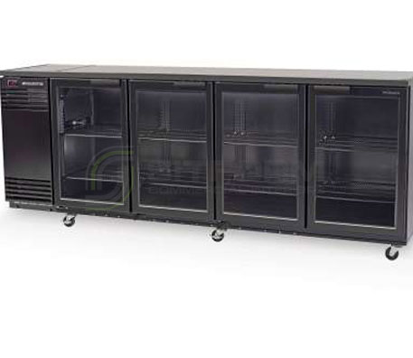 SKOPE  Backbar X BB780X 4 Glass Swing Door Fridge | Bar Displays
