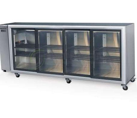 SKOPE  Backbar BB780 4 Glass Sliding Door Fridge – Remote | Bar Displays