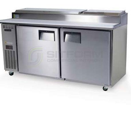 SKOPE  CENTAUR BC180-P 2 Solid Door Pizza Preparation Non-GN Fridge | Food Preparation