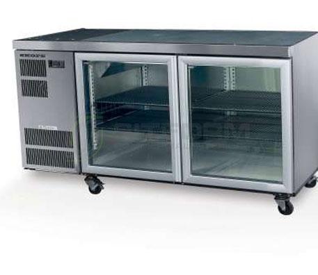 SKOPE  Counterline CL400 2 Glass or Solid Swing Door Fridge | Underbench Display Chillers