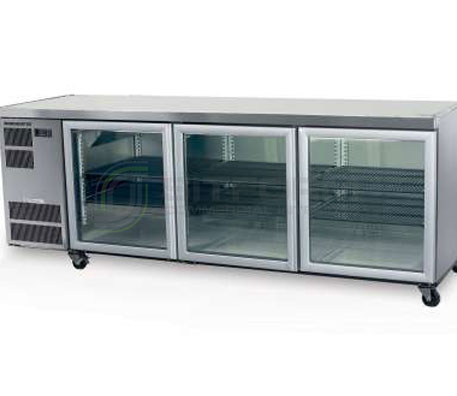 SKOPE  Counterline CL600 3 Glass or Solid Swing Door Fridge | Underbench Display Chillers