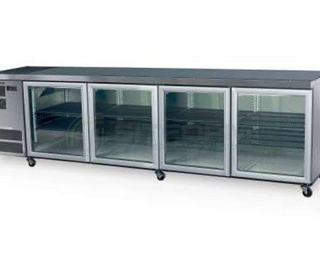 SKOPE  Counterline CL800 4 Glass or Solid Swing Door Fridge | Underbench Display Chillers