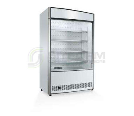 SKOPE  Open Deck OD1100 Open Deck Fridge with Low Sign | Floor Standing - Cold Displays