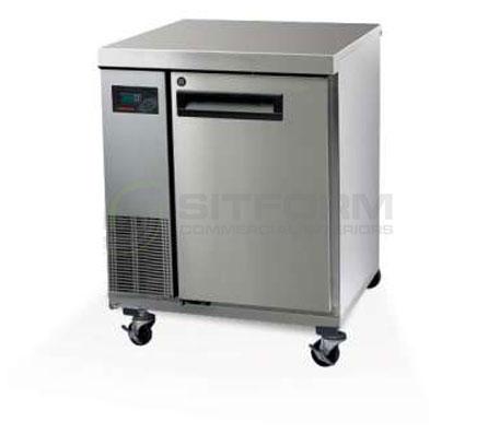 SKOPE  PEGASUS PG100 1 Solid Door 1/1 Underbench GN Freezer Remote | Underbench - Freezers