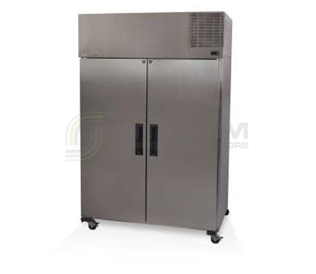 SKOPE  Pegasus PG1300 2 Solid Door Upright GN Freezer Remote | Floor Standing - Storage Freezers