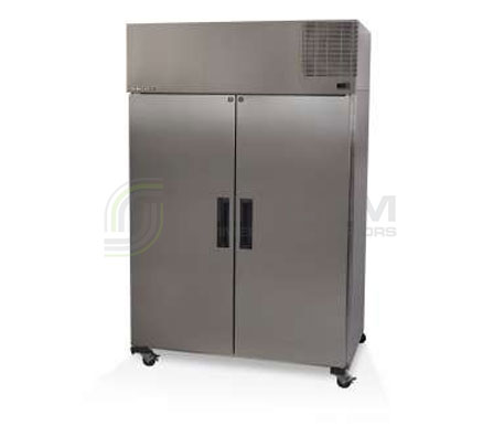 SKOPE  Pegasus PG1300 2 Solid Door Upright GN Fridge Remote | Food Storage - Upright