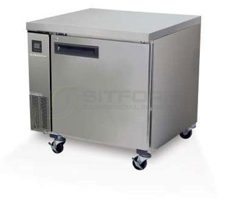 SKOPE  PEGASUS PG200 1 Solid Door 2/1 Underbench GN Freezer Remote | Underbench - Freezers