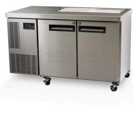SKOPE  PEGASUS PG250 2 Solid Door 1/1 Preparation GN Fridge | Food Preparation
