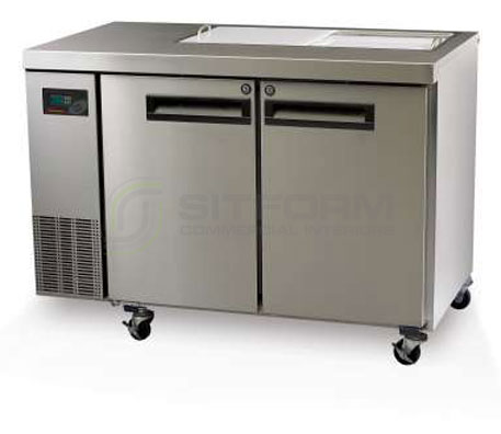 SKOPE  PEGASUS PG250 2 Solid Door 1/1 Preparation GN Fridge Remote | Food Preparation
