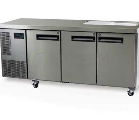 SKOPE  PEGASUS PG400 3 Solid Door 1/1 Preparation GN Fridge | Food Preparation