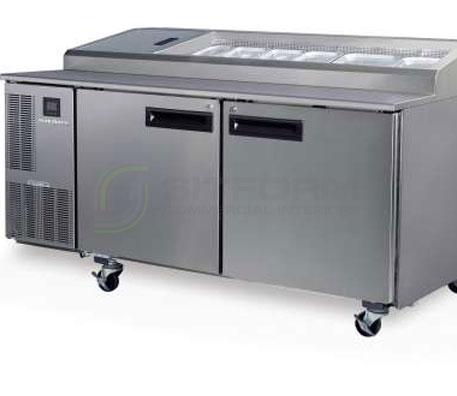 SKOPE  PEGASUS PG500 2 Solid Door 2/1 Pizza GN Fridge | Food Preparation