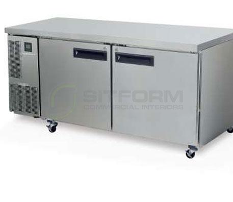 SKOPE  PEGASUS PG500 2 Solid Door 2/1 Underbench GN Freezer | Underbench - Freezers