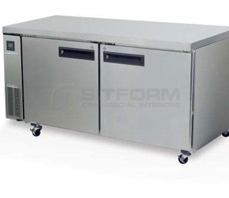SKOPE  PEGASUS PG500 2 Solid Door 2/1 Underbench GN Freezer Remote | Underbench - Freezers