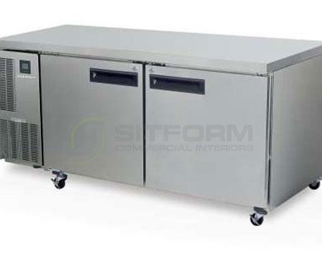 SKOPE  PEGASUS PG500 2 Solid Door 2/1 Underbench GN Fridge | Underbench - Storage