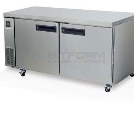 SKOPE  PEGASUS PG500 2 Solid Door 2/1 Underbench GN Fridge Remote | Underbench - Storage
