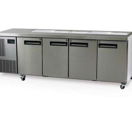 SKOPE  PEGASUS PG550 4 Solid Door 1/1 Preparation GN Fridge | Food Preparation