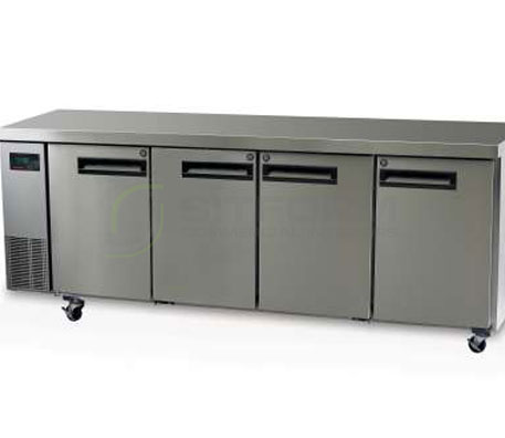 SKOPE  PEGASUS PG550 4 Solid Door 1/1 Underbench GN Fridge Remote | Underbench - Storage