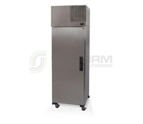 SKOPE  Pegasus PG600 1 Solid Door Upright GN Freezer Remote | Floor Standing - Storage Freezers