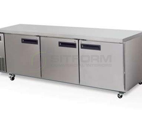 SKOPE  PEGASUS PG800 3 Solid Door 2/1 Underbench GN Fridge Remote | Underbench - Storage