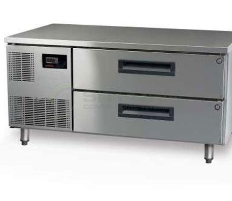 SKOPE  PEGASUS PGLL150 2 Drawer 1/1 & 2/1 Underbench GN Fridge Remote | Underbench - Storage