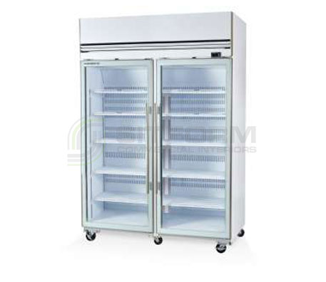 SKOPE VF X VF1300X 2 Glass or Solid Door Top Mount Freezer – Remote | Upright Freezer & Ice Displays