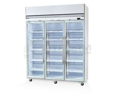 SKOPE  VF X VF1500X 3 Glass or Solid Door Top Mount Freezer Remote | Upright Freezer & Ice Displays