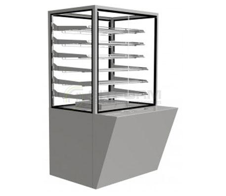 Festive –  Baker Heated Cabinet 600mm | Floor Standing - Hot Displays