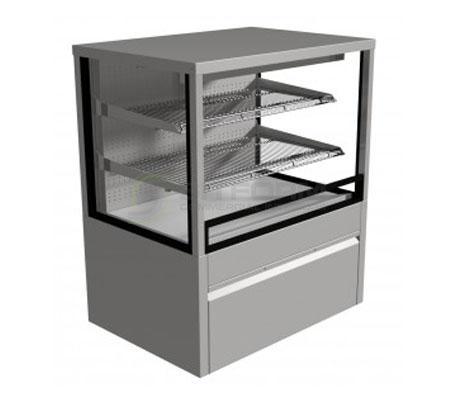 Festive –  Regent Chilled Open-Front Cabinet 900mm | Floor Standing - Cold Displays
