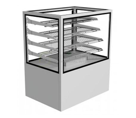 Festive –  Regent Heated Cabinet 600mm | Floor Standing - Hot Displays