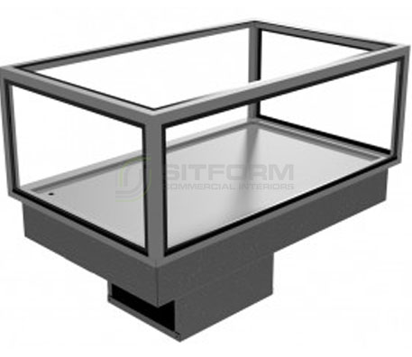Festive –  Somerset Cold Deck Cabinet (With Frame Canopy Option) | Drop In - Cold Displays