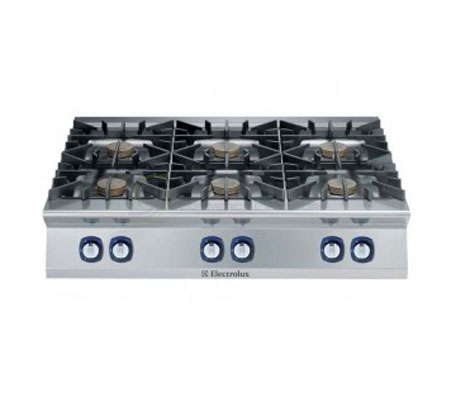 Electrolux 900XP E9GCGL6COM – 6 Burner Gas Cook Top Boiling Top | Cooktops