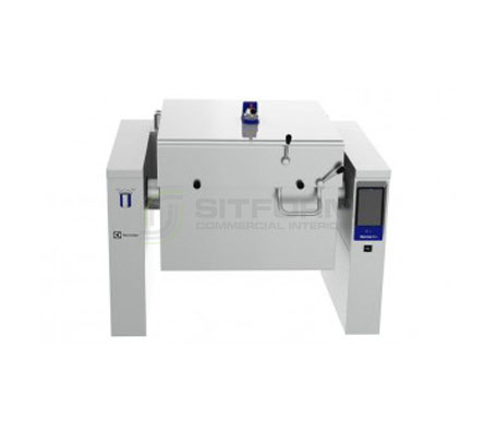 Electrolux PUET09KGEO – 90L Electric Pressure Tilting Bratt Pan with CTS | Bratt Pans