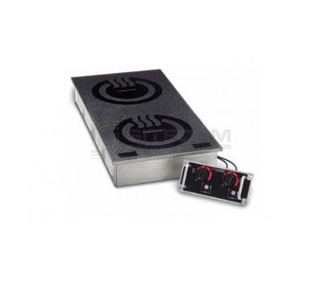 CookTek MCD2502F – 2400 watt Double Hob Induction Cooktop | Induction Cook Tops