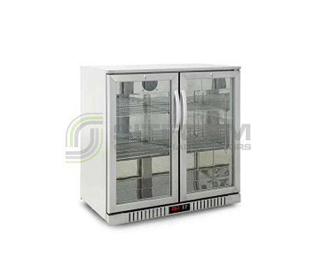 Austune backbar Hinge Door BS-2 900mm | Bar Displays