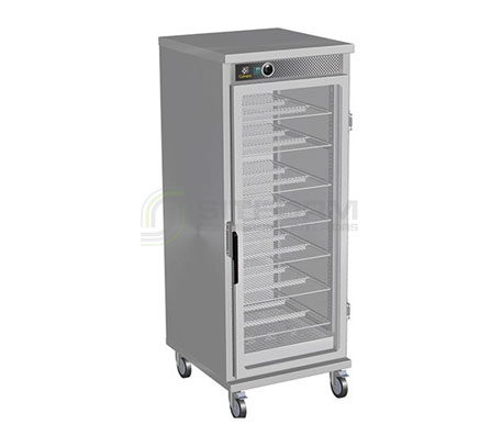 Culinaire CH.VHC.SG.3211 Vertical Hot Cupboard with Glass Door | Hot Cupboards