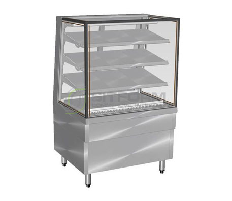 Culinaire CA.FDSQ.F.0900 – Ambient Food Display 900mm Wide | Ambient - Floor Standing Display