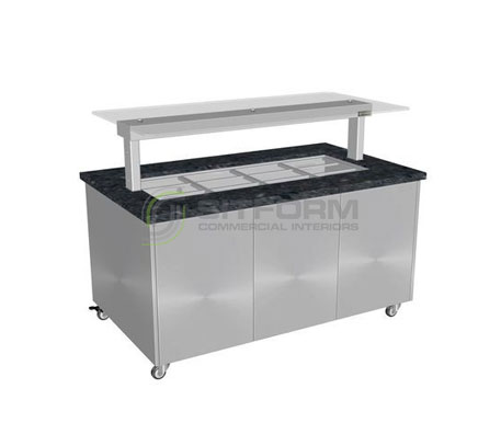 Culinaire CH.IBGS.BMC.U.GSF Heated Island Buffet – TEST | Island Buffet