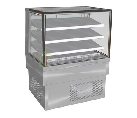 Culinaire CR.FDSQ.D.0900 – Refrigerated Food Display | Drop In - Cold Displays