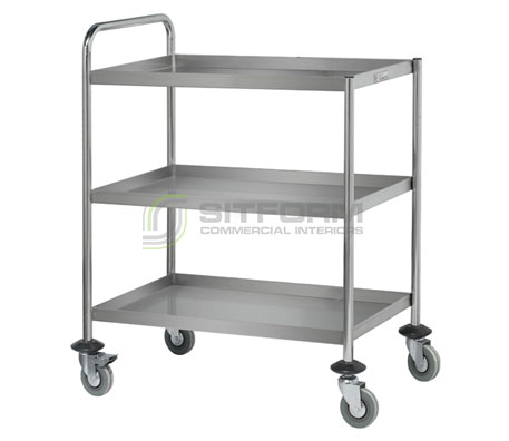 Simply Stainless SS15 Three Tier Trolley | Trolleys
