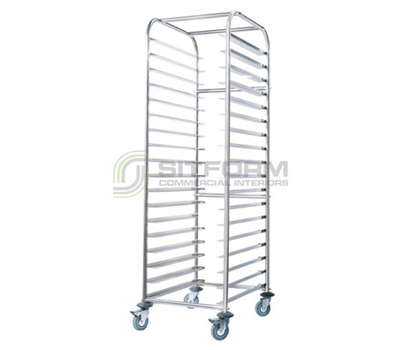 Simply Stainless SS16.1/1 Mobile Gatronorm Rack Trolley | Trolleys