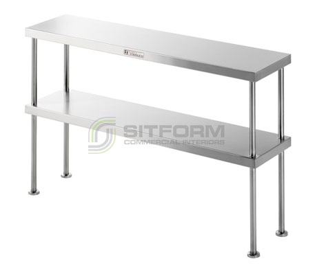 Simply Stainless SS13.0900 Double Bench Over-shelf | Shelves