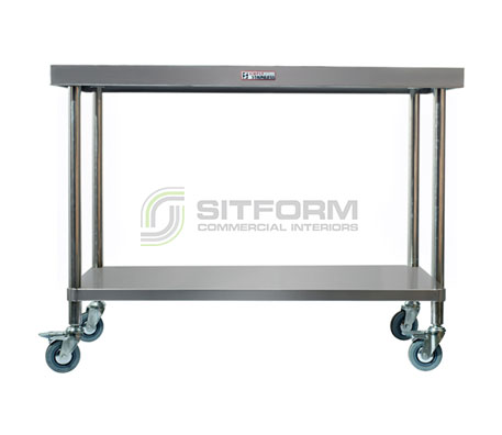 Simply Stainless SS03.7.0600 Mobile Work Bench | Benches