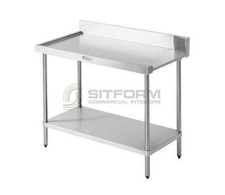 Simply Stainless SS07.7.1200L  Dishwasher Outlet Bench | Sink Benches