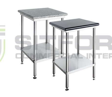 Simply Stainless SS23.0900w Granite Topped Benches | Benches